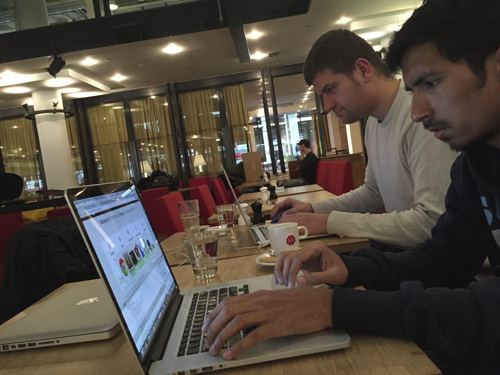 Amsterdam Shiny Hacking Trip November 2015