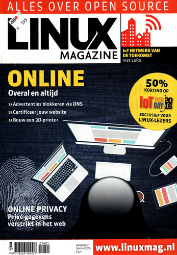Linux Magazine Cover