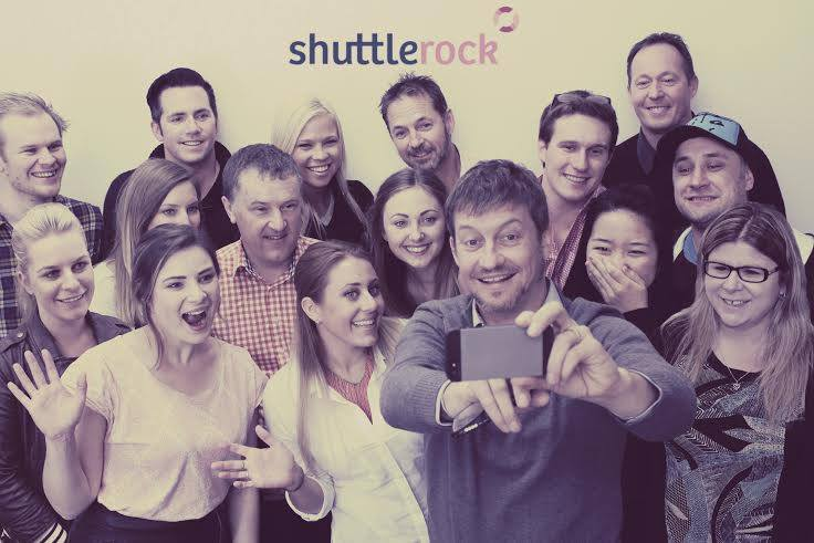 The wonderful team of Shuttlerock