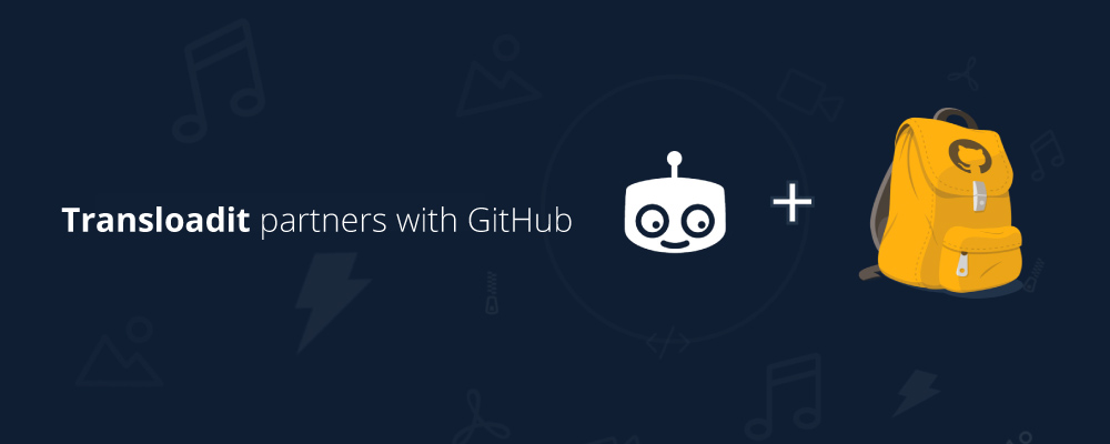 GitHub announces partnership with Transloadit