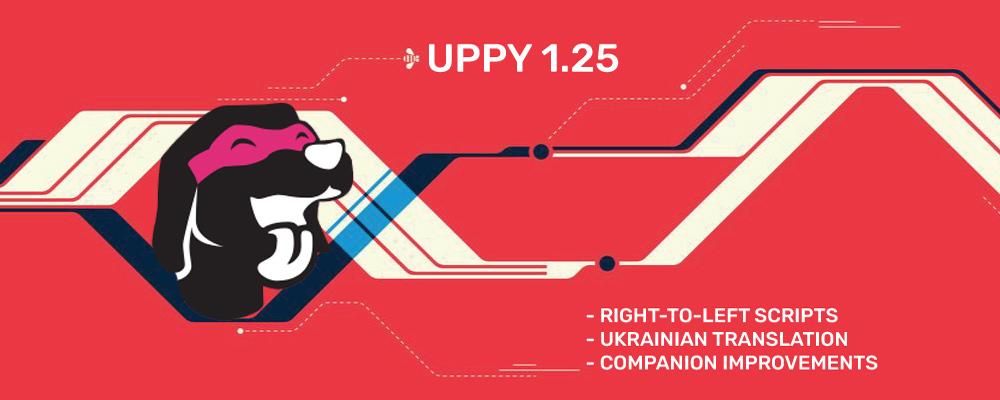 Uppy 1.25 — right-to-left scripts, Ukrainian translation, Companion improvements