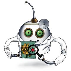 Our virus scan robot