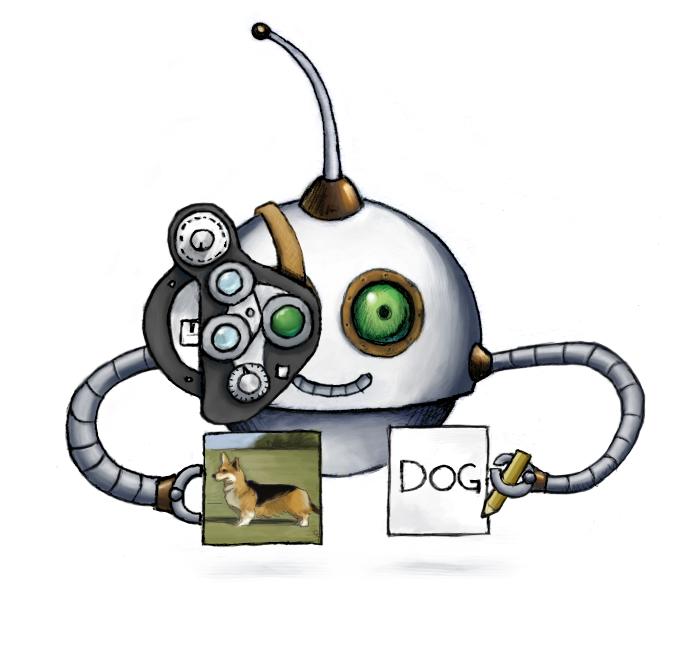 Our /image/describe Robot